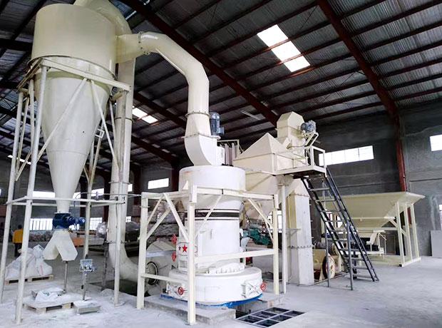 山东青岛方解石、石灰石磨粉生产线
