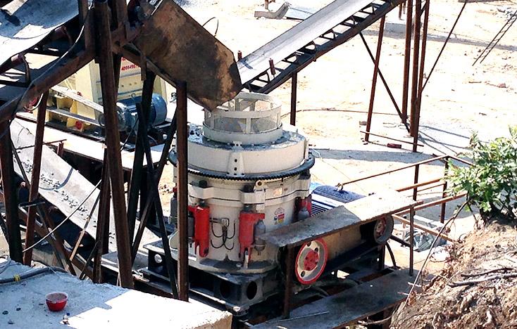 再高硬度的石料,多缸液压圆锥破碎机也照碎不误